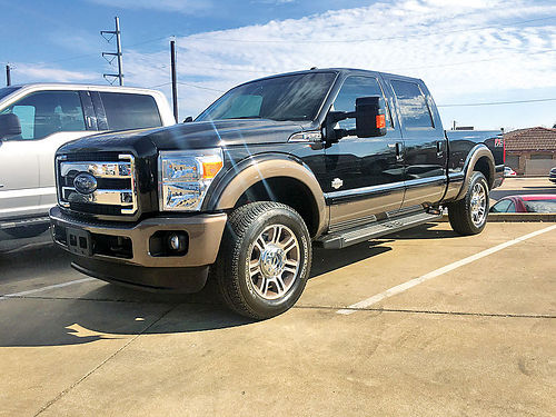 14 FORD F-250 LARIAT FX4 4X4 AC DUAL ALLOYS AUTO DIESEL PIEL POWER STROKE TURBO 4 PTS 469