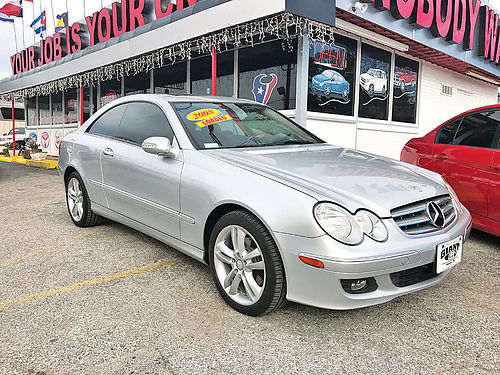 08 MERCEDES BENZ CLK350 ALLOYS AUTO 4 PTS AC TELEC CD VAJUST 713 574-5050 1495ENG