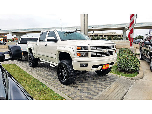 15 CHEVY SILVERADO LT 4X4 4X4 AC DUAL ALLOYS AUTO ESTRIBOS LIFTED PIEL 4 PTS RINES DE 20