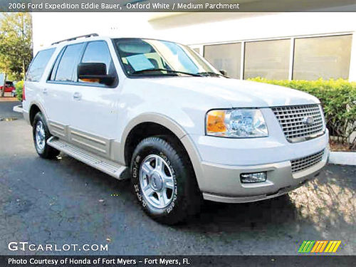 06 FORD EXPEDITION LIMITED PIEL 3RD SEAT 2 AC 160K MILLAS TELEC TV 713 780-1616 6950