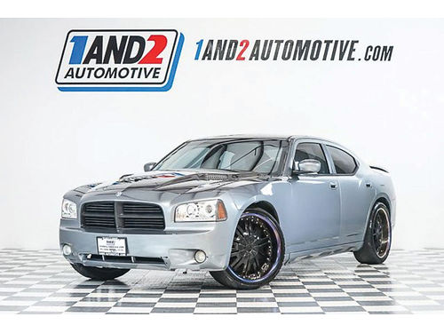 06 DODGE CHARGER RT AC DUAL ALLOYS AUTO PIEL SUPER LIMPIO R8711 214 771-8889 4988