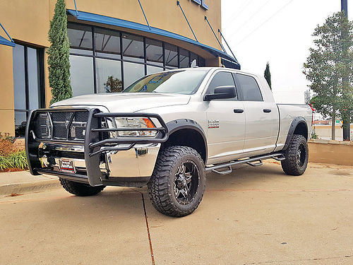 14 DODGE RAM 2500 HD SLT 4X4 AC DUAL ALLOYS AUTO CUSTOM RIMS DIESEL LIFTED LLANTAS NUEVAS P