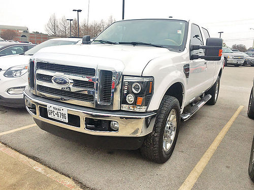 10 FORD F-250 LARIAT FX4 4X4 AC DUAL ALLOYS AUTO DIESEL ESTRIBOS PIEL POWER STROKE TURBO 4