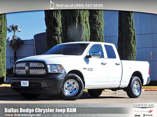 15 DODGE RAM 1500 TRADESMAN ALLOYS AUTO BLUETOOTH CD TODO ELECTRICO QUAD CAB F5614422 214 4