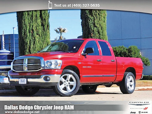 07 DODGE RAM 1500 SLT ALLOYS AUTO CD TODO ELECTRICO 7S102056 214 442-0759 249MES