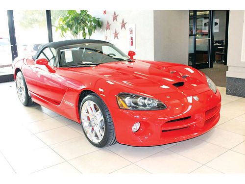 08 DODGE VIPER SRT8 AUTO BLUETOOTH CONVERTIBLE CUSTOM RIMS PIEL SISNAV V8 214 224-0257