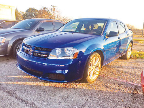 14 DODGE AVENGER AC DUAL ALLOYS AUTO 4 PTS 214 442-7014 499ENG