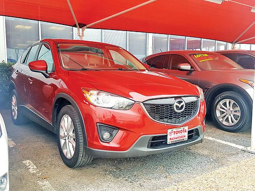 13 MAZDA CX-5 GRAND TOURING AC DUAL ALLOYS AUTO PIEL QUEMAC SISNAV 4 PTS D0151599 866 3
