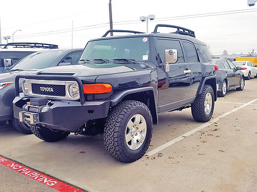 07 TOYOTA FJ CRUISER AC DUAL ALLOYS AUTO LIFTED 4 PTS 70025462 866 328-3696 17887