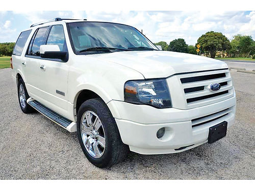 07 FORD EXPEDITION LIMITED 3RA FILA AC DUAL ALLOYS AUTO PIEL 4PTS A66075 214 296-4026 9