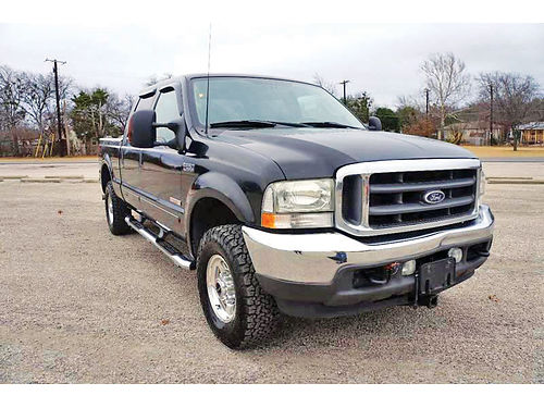 03 FORD F-250 LARIAT AC DUAL ALLOYS AUTO DIESEL ESTRIBOS PIEL TURBO 4 PTS D20090 214 29