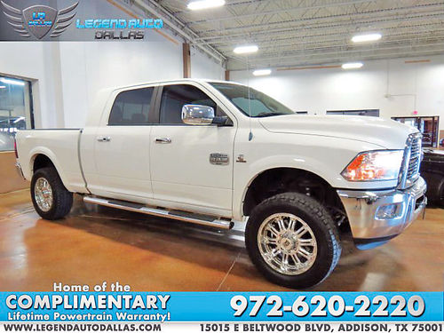 12 DODGE RAM 2500 LARAMIE BLUETOOTH CAMARA TRASERA CUSTOM RIMS DIESEL ESTRIBOS LIFTED PIEL SE