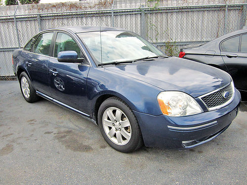 05 FORD FIVE HUNDRED AUTO AC TELEC CD 713 780-0807 5994 1494ENG