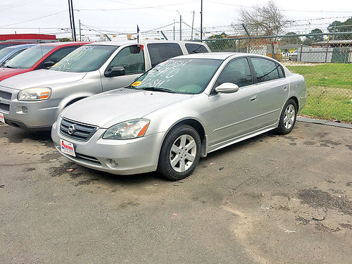 03 NISSAN ALTIMA AC DUAL ALLOYS AUTO SUPER LIMPIO 4PTS 281 405-0440 2900
