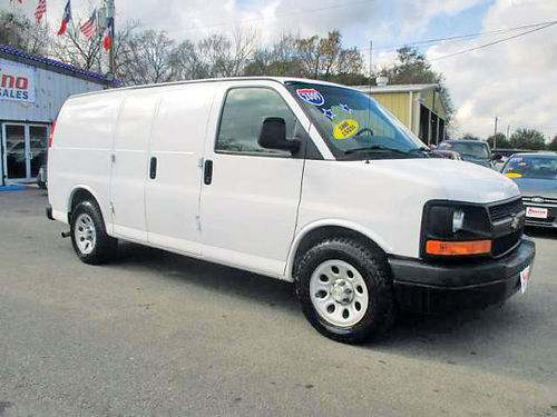 2009 chevrolet express cargo van cars and vehicles houston tx. Black Bedroom Furniture Sets. Home Design Ideas