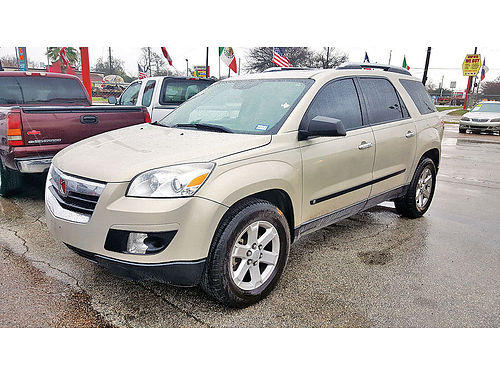 08 SATURN OUTLOOK XE 3RA FILA AUTO AC TELEC CD 713 574-1274