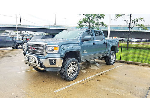 14 GMC SIERRA 1500 TEXAS EDITION 4X4 AC DUAL ALLOYS AUTO PIEL 4 PTS F224728A 713 343-8842