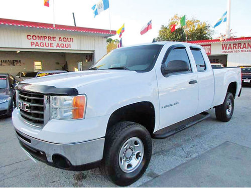 08 GMC SIERRA 2500HD ALLOYS AUTO 4 PTS AC TELEC CD VAJUST 713 358-4430 1695ENG