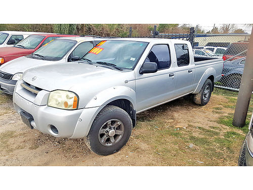04 NISSAN FRONTIER LONG BED CREW CAB AUTO AC TELEC CD 6831 281 447-0002 3999