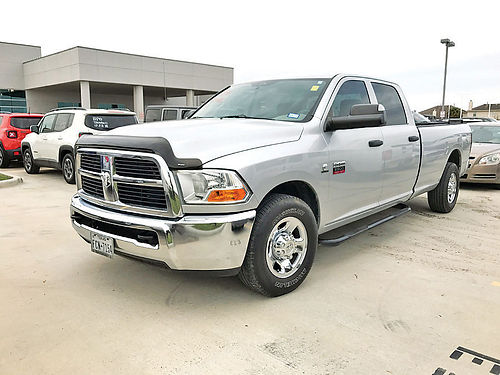 11 DODGE RAM 2500 CUMMINS ALLOYS AUTO DIESEL TURBO 4 PTS AC TELEC CD VAJUST D17494A 2