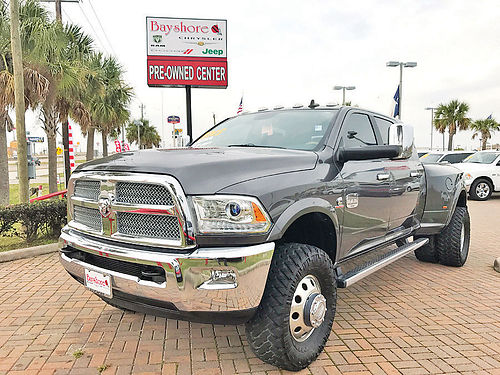 15 DODGE RAM 3500 LARAMIE 4X4 ALLOYS AUTO DIESEL PIEL QUEMAC TURBO 4 PTS AC TELEC CD V