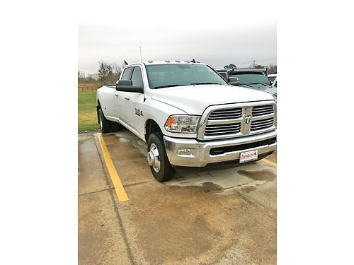 16 DODGE RAM 3500 CUMMINS ALLOYS AUTO DIESEL TURBO 4 PTS AC TELEC CD VAJUST D17531A 2