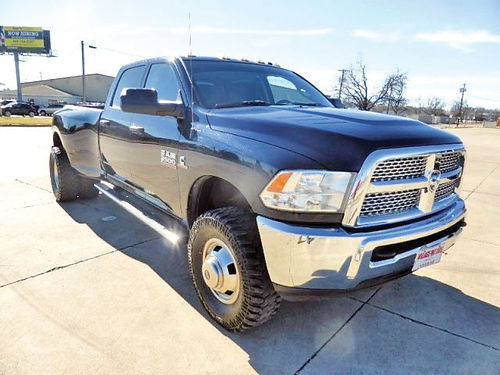 14 DODGE RAM 3500 4X4 4X4 AC DUAL ALLOYS AUTO DIESEL TURBO 4 PTS 214 234-9827 3499ENG