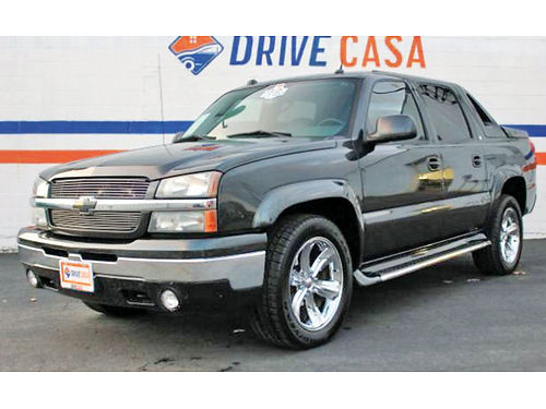 05 CHEVY AVALANCHE LT ALLOYS AUTO ESTRIBOS PIEL V8 469 913-4725 128SEM