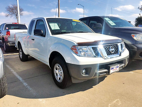 14 NISSAN FRONTIER S AC DUAL ALLOYS AUTO 2 PTS CAB 12 GP16377B 214 736-9502 14991