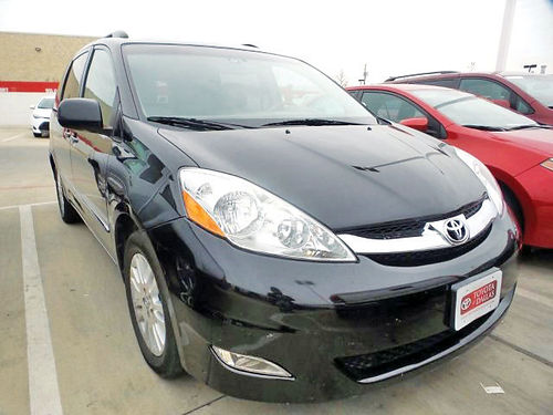 09 TOYOTA SIENNA LIMITED 3RA FILA AC DUAL ALLOYS AUTO 4 PTS 9S261235 866 213-4016 89PAG