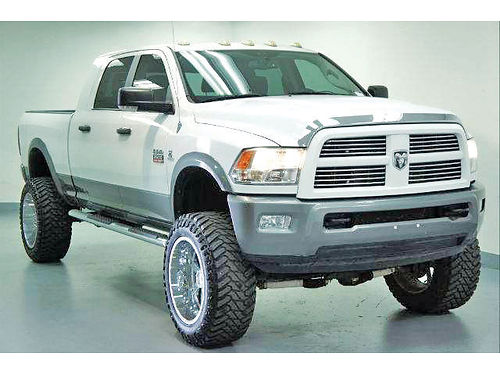11 DODGE RAM 2500 SLT 4X4 AC DUAL ALLOYS AUTO CUSTOM RIMS DIESEL ESTRIBOS LIFTED TURBO 4 P