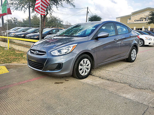 16 HYUNDAI ACCENT AC DUAL ALLOYS AUTO 4 PTS 214 504-1457 499ENG