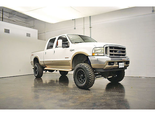 04 FORD F-250 KING RANCH  214 317-4209 275QUINC