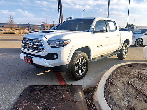 16 TOYOTA TACOMA TRD SPORT ALLOYS AUTO BLUETOOTH V6 4 PTS GM007631 866 328-3696 405MES