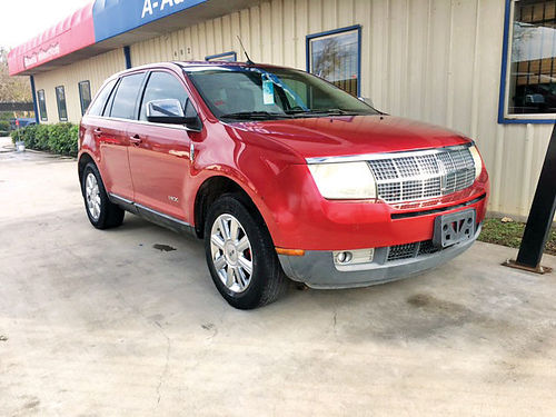08 LINCOLN MKX AC DUAL ALLOYS AUTO PIEL 4 PTS 214 736-9504