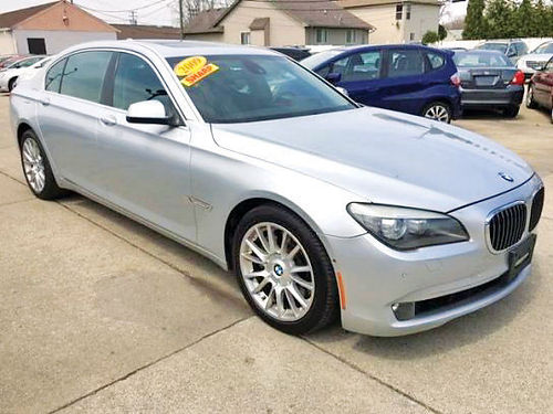 09 BMW 750LI PIEL QUEMAC SISNAV AC TELEC CD NIGHT VISION 360DEGREES CAMERA WINDSHIELD SC