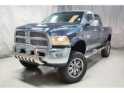 14 DODGE RAM 2500 LARAMIE CAMARA TRASERA LIFTED V8 64L ONE OWNER BLACK LEATHER 19421 855 7