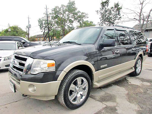 07 FORD EXPEDITION EL 3RA FILA ALLOYS AUTO PIEL 4 PTS AC TELEC CD VAJUST 713 574-5050