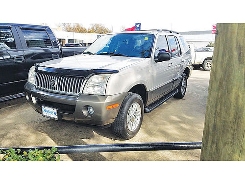 04 MERCURY MOUNTAINEER AC DUAL ALLOYS AUTO PIEL 4 PTS 17458A 877 327-2489 4991