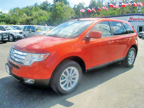 07 FORD EDGE SEL AC DUAL ALLOYS AUTO LUXURY PACKAGE PIEL V8 4 PTS 281 405-0440 1400ENG