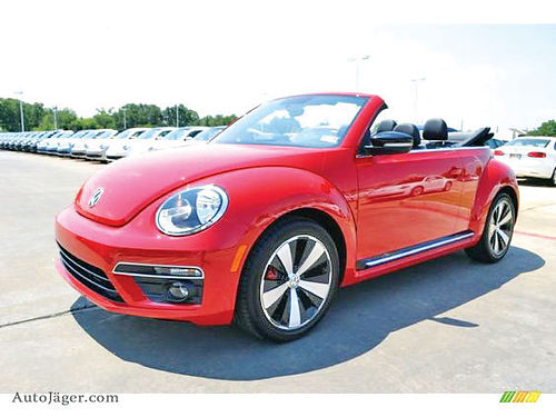 13 VOLKSWAGEN BEETLE TURBO CHARGED ALLOYS AUTO CONVERTIBLE 2 PTS AC TELEC CD VAJUST WP2
