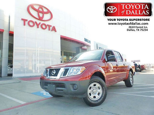 15 NISSAN FRONTIER SV AC DUAL ALLOYS AUTO V6 4 PTS FN757232 866 213-4016 208MES