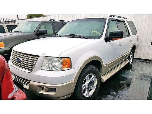 05 FORD EXPEDITION EDDIE BAUER 3RA FILA AUTO PIEL AC TELEC CD 713 780-0807 4995 794EN