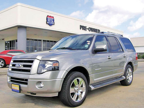 08 FORD EXPEDITION LIMITED 3RA FILA AUTO PIEL QUEMAC AC TELEC CD 281 500-9407 1500ENG