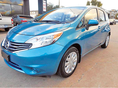 14 NISSAN VERSA NOTE 4 CIL ALLOYS AUTO BAJAS MILLAS SUPER LIMPIO 4 PTS 832 603-4995 10995