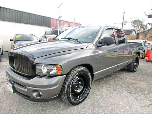 03 DODGE RAM 1500 ALLOYS AUTO AC TELEC CD VAJUST 713 574-5050 895ENG