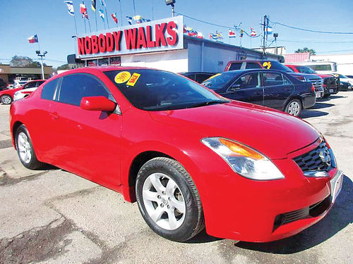 09 NISSAN ALTIMA 25S ALLOYS 4 PTS AC TELEC CD VAJUST 713 574-5050 995ENG