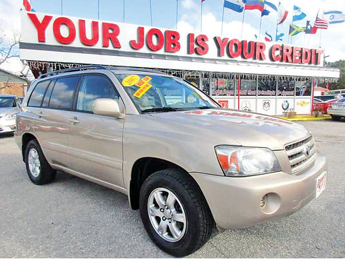 07 TOYOTA HIGHLANDER ALLOYS AUTO 4 PTS ACT ELEC CD VAJUST 713 358-4430 995ENG