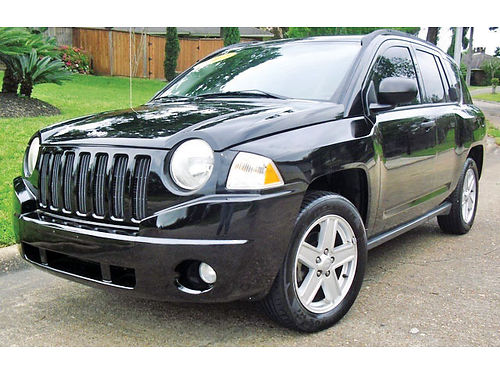 07 JEEP COMPASS SPORT 2WD AC DUAL ALLOYS AUTO 4 PTS 148309 713 643-4474 6595