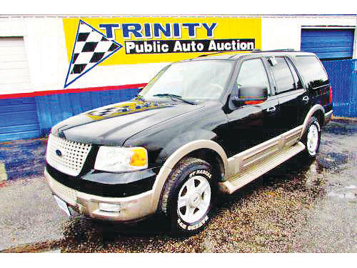 03 FORD EXPEDITION EDDIE BAUER 3RA FILA AC DUAL ALLOYS AUTO ESTRIBOS PIEL QUEMAC SISNAV 4